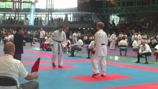 Karate 1 2013 Germany MALE  75kg Horuna v Smaal