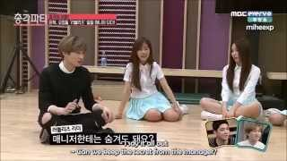 getlinkyoutube.com-[ENG SUB] 150402 Bachelor Party - Eunhyuk as Lovelyz's Manager