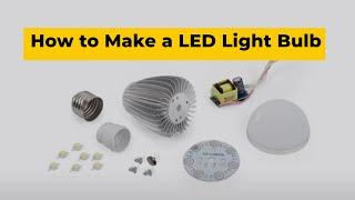 getlinkyoutube.com-How to Make a LED Light Bulb