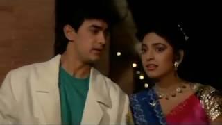 Aamir Khan and Juhi Chawla Scene - Love Love Love - Romantic