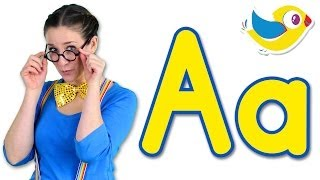 getlinkyoutube.com-The Letter A Song - Learn the Alphabet