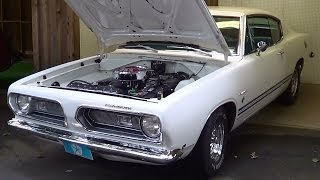 getlinkyoutube.com-1968 Barracuda Formula S 383 Big Block Georgia Mountain Moonshine Cruiz-In 2013