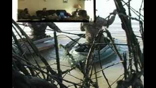 getlinkyoutube.com-Waterfowl Hunting DVD Gag Reel by Ragged Outdoors,(guy falls out of boat)