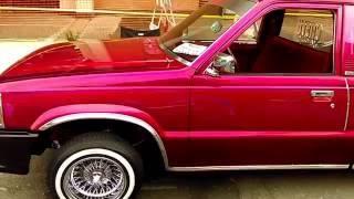 Lowrider Mazda Truck Chelu car club
