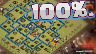 "getlinkyoutube.com-Clash of Clans: ""MAXED TH10's... 3 STARRED!"" 