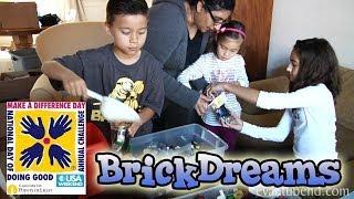 getlinkyoutube.com-EvanTubeHD visits BRICK DREAMS - National Make a Difference Day!