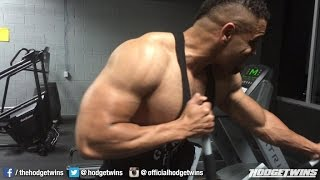 getlinkyoutube.com-Back & Shoulder Workout @hodgetwins