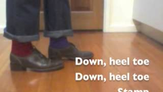How to do an Irish dance Clare battering reel step-LESSON