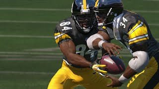 getlinkyoutube.com-QB Antonio Brown RUSHES FOR OVER 300 YARDS! -  Madden 15 Ultimate Team Gameplay