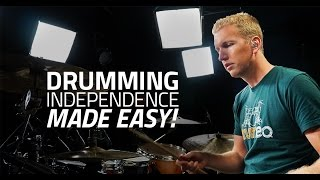 getlinkyoutube.com-Independence Made Easy with Jared Falk  - Drum Lesson (Drumeo)