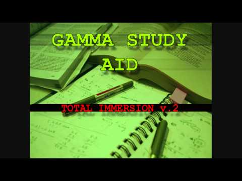 Study Aid 9 (Re-up) - Total Immersion V.2 - Gamma Study Aid