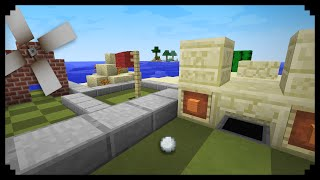 ✔ Minecraft: How to make a Minigolf Course