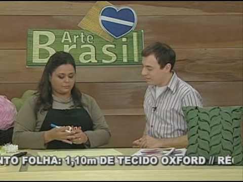 ARTE BRASIL -- VALÉRIA SOARES -- CAPITONÊ COM PONTO FOLHA (09/09/2010 - Parte 1 de 2)