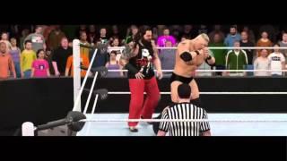 getlinkyoutube.com-WWE2K16 NOC Brock Lesnar VS Bray Wyatt Epic Match Highlights