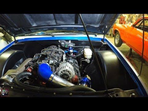Turbo LS Hotrod Update w/Blue Ghost S10 + TT Nova | Driveshaft Fail/U Joints/Injector Install