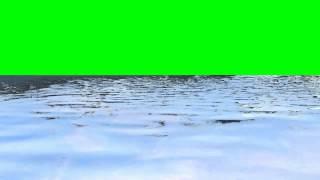 getlinkyoutube.com-waves in water 1 - free green screen effects