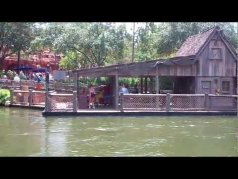 Tom Sawyer's Island Walk-Through 2011 HD - Magic Kingdom - Walt Disney World