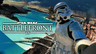 getlinkyoutube.com-Star Wars Battlefront -  Funniest Moments of 2016