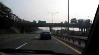 getlinkyoutube.com-toyota vios vs toyota limo vs mitsubishi evo 4 at JORR Indonesia ( Jakarta )