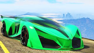 getlinkyoutube.com-WORLD'S FASTEST GTA CAR EVER! (GTA 5 Funny Moments)