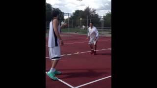 Tennis Ball Shuffles