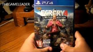 farcry 4: [limited edition] (ps4) - unboxing