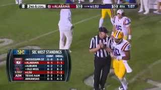 getlinkyoutube.com-2014 #5 Alabama vs. #16 LSU (HD)