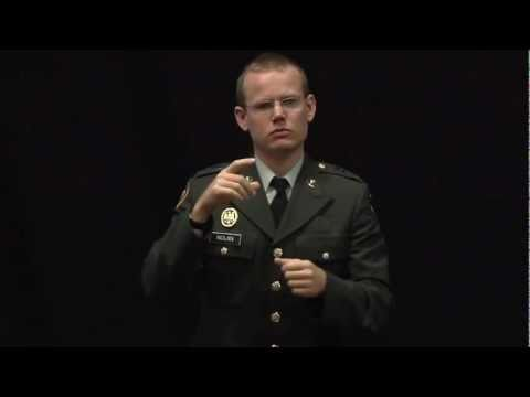 TEDxIslay- Keith Nolan- Deaf in the Military [Subtitled]