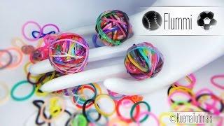 getlinkyoutube.com-Rainbow Loom - einfacher Gummiball - Flummi