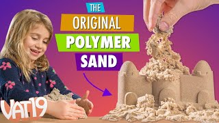 getlinkyoutube.com-The Original Kinetic Sand by Brookstone