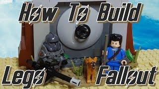getlinkyoutube.com-How To Build Lego Fallout 4 The Sole Survivor (with power armor)