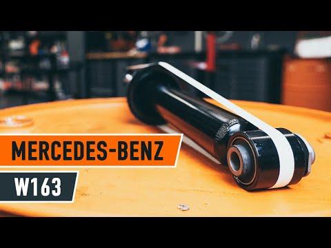 Как да сменим Задни амортисьори на  MERCEDES-BENZ M W163 [ИНСТРУКЦИЯ]