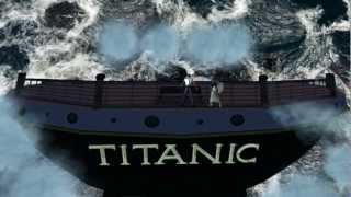 getlinkyoutube.com-Celine Dion - Titanic 3D - Original Themesong - Secondlife Machinima