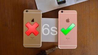 getlinkyoutube.com-Real VS Fake iPhone 6s Clone: How To Spot Fake!!!