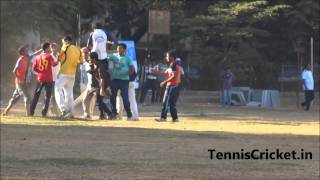 Best match Winning moment in Tennis Cricket In Mumbai