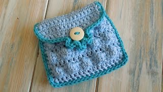 getlinkyoutube.com-(crochet) How To - Crochet a Small Purse - Yarn Scrap Friday