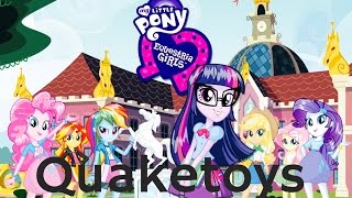 getlinkyoutube.com-New Equestria Girls Friendship Games My Little Pony App Long Version Scan Flash Sentry & Twilight