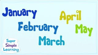 getlinkyoutube.com-The Months Chant | Super Simple Songs