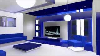 The Sims 3 modern minimalist house - EcoBlue [HD] + DOWNLOAD