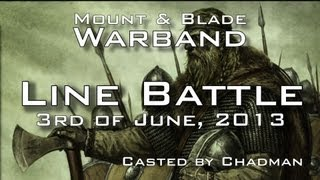 getlinkyoutube.com-Mount and Blade (Warband) - Line Battle - Nords v Sarranids (03 06 2013)