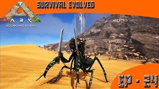 getlinkyoutube.com-ARK: Survival Evolved - Perfect Mantis Tame! - EP-24