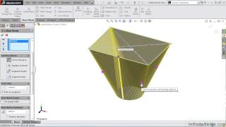 getlinkyoutube.com-SolidWorks - Sheet Metal Tutorial | Lofted Bends