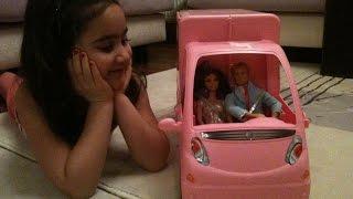 getlinkyoutube.com-Barbie Camper Van Caravan Playset Presentation Turkish Beste Aydogmus Karavan Barbie Tanıtımı