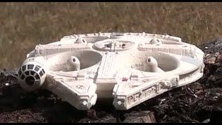 getlinkyoutube.com-RC Millennium Falcon from Air Hogs