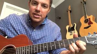 I Have Decided to Follow Jesus - Beginner Guitar Lesson (Matt McCoy)