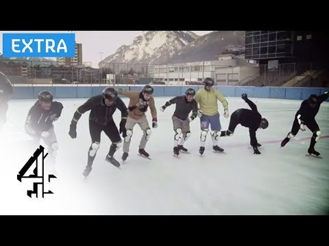 Short Track Speed Skating   @TheJump   @Channel4