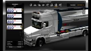 getlinkyoutube.com-Euro Truck Simulator 2 Scania T Longline Tandem v1