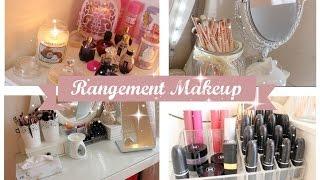 getlinkyoutube.com-Mon rangement makeup ♡