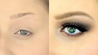 getlinkyoutube.com-Easy Eyebrow Tutorial for Beginners