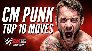 getlinkyoutube.com-WWE 2K15 PS4 - Cm Punk Top 10 Moves!